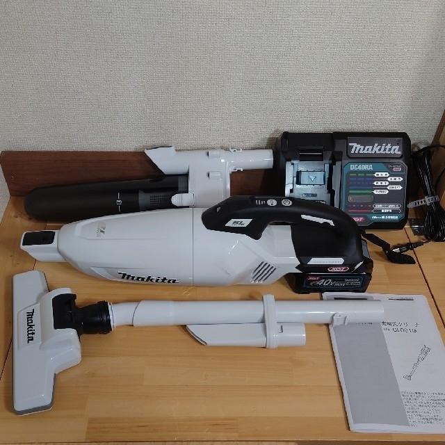 Makita(マキタ)のマキタ 40V 新品 充電式クリーナー CL001GRDCW スマホ/家電/カメラの生活家電(掃除機)の商品写真