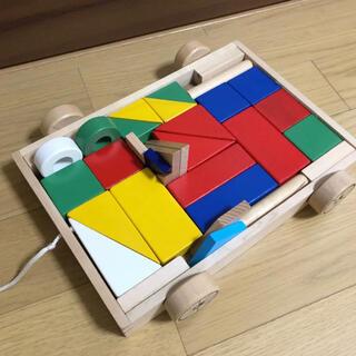 イケア(IKEA)の【積み木】あるだけ集めて詰めました!  IKEA(積み木/ブロック)