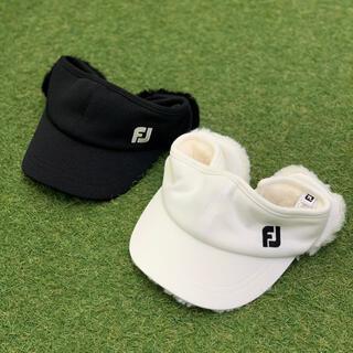 フットジョイ(FootJoy)のFootJoy フットジョイ ゴルフ 帽子 耳当て サンバイザー 韓国 golf(ウエア)
