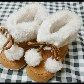 ミコ姫様専用  ムートン ブーツ 11cm (ブーツ)