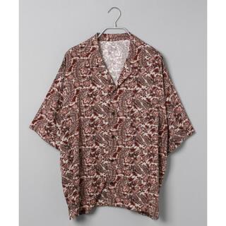 ジーナシス(JEANASIS)のJEANASIS アフリカンガラカイキンシャツ(シャツ/ブラウス(半袖/袖なし))