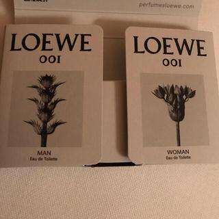 ロエベ(LOEWE)のロエベ フレグランス 2点セット 001マン 001ウーマン 香水(ユニセックス)