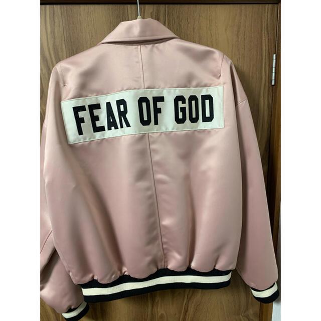FEAR OF GOD(フィアオブゴッド)のfear of god 5th サテンジャケット メンズのジャケット/アウター(ブルゾン)の商品写真