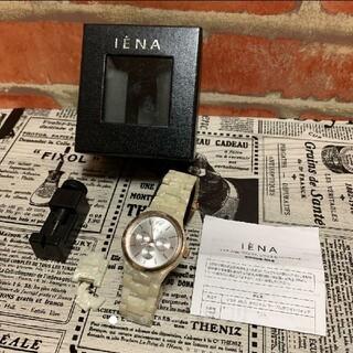 イエナ(IENA)のイエナ ANA オリジナル マーブルホワイト ウォッチ(腕時計)
