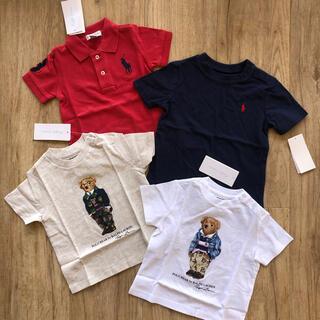 ラルフローレン(Ralph Lauren)のラルフローレン ベビー ポロシャツ Tシャツ ポロベア  ビッグポニー 子供服(Tシャツ)