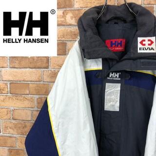 ヘリーハンセン(HELLY HANSEN)の♡ヘリーハンセン♡ナイロンジャケット 企業ワッペン 配色カラー HH(ナイロンジャケット)