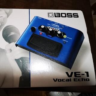 ボス(BOSS)のボーカルエフェクター BOSS VE-1(エフェクター)