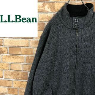エルエルビーン(L.L.Bean)の♡エルエルビーン♡中綿ウールジャケット アウター ヘリンボーン チャコールグレー(その他)