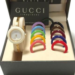 グッチ(Gucci)の2.美品 グッチ GUCCI 時計 チェンジベゼル(腕時計)