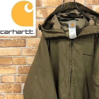 carhartt - ♡カーハート♡ナイロンジャケット 裏フリース カモフラ 迷彩 胸ロゴ