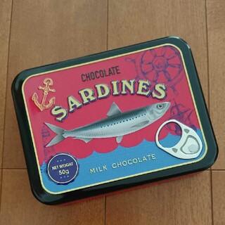 カルディ(KALDI)のカルディ チョコサーディン 缶(小物入れ)