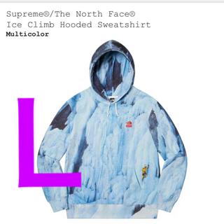 シュプリーム(Supreme)の【L】 Supreme North Face Ice Climb Hooded(パーカー)