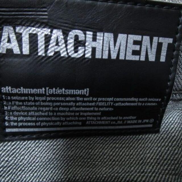 ATTACHIMENT(アタッチメント)のアタッチメント ダメージ加工デニム 日本製☆ラメ混♪ メンズのパンツ(デニム/ジーンズ)の商品写真