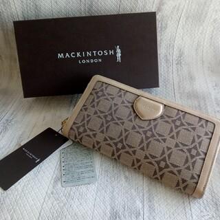 マッキントッシュ(MACKINTOSH)のMACKINTOSH LONDON  財布 箱 三陽商会 綿 牛革 (財布)