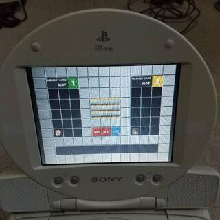 プレイステーション(PlayStation)のPS ONE PSONE用モニター③外部入力用プラグ追加可能 コンビニ決済OK(その他)