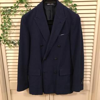 スーツカンパニー(THE SUIT COMPANY)のスーツセレクト  春夏用 ダブルジャケット ネイビー  Y4 165(テーラードジャケット)