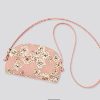 ユニクロ(UNIQLO)のユニクロ UNIQLO ポール&ジョー ショルダーバッグ ピンク 花柄(ショルダーバッグ)