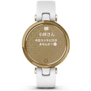 ガーミン(GARMIN)の【新品】GARMIN スマートウォッチ Lily Classic White(腕時計)