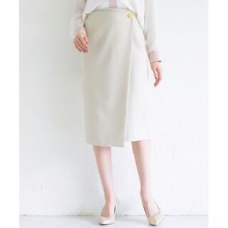 ラウンジドレス(Loungedress)の◎未使用に近い◎ loungedress ラップタイトスカート(ひざ丈スカート)