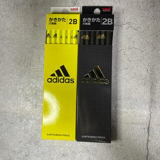 アディダス(adidas)のadidasかきかた鉛筆2セット(計24本)(鉛筆)