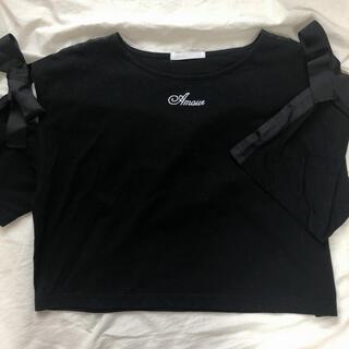スピンズ(SPINNS)のSPINNS トップス(Tシャツ(長袖/七分))