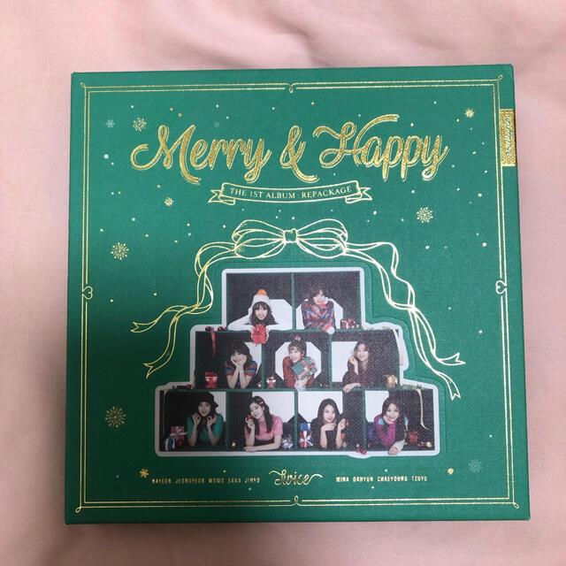 Waste(twice)(ウェストトゥワイス)のTWICE メリハピ CD Merry & Happy エンタメ/ホビーのCD(K-POP/アジア)の商品写真