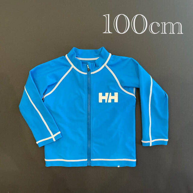 HELLY HANSEN(ヘリーハンセン)の♡ヘリーハンセン♡100 水着 スイムウェア ラッシュガード  長袖 子供 キッズ/ベビー/マタニティのキッズ服男の子用(90cm~)(水着)の商品写真