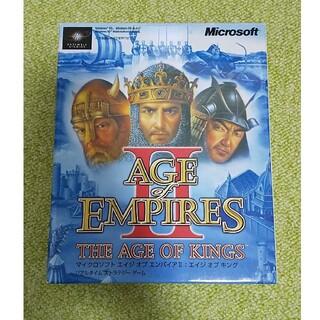 マイクロソフト(Microsoft)のAGE of EMPIRES 2(PCゲームソフト)