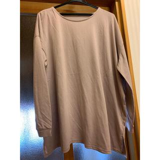 グレイル(GRL)の【GRL】ロングTシャツ ピンク(Tシャツ(長袖/七分))