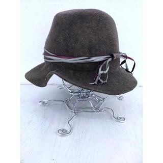 カシラ(CA4LA)のCA4LA(カシラ) 中折れウールハット メンズ 帽子 ハット(ハット)