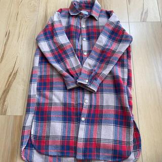 ライトオン(Right-on)のロングネルシャツ ワンピース(ワンピース)