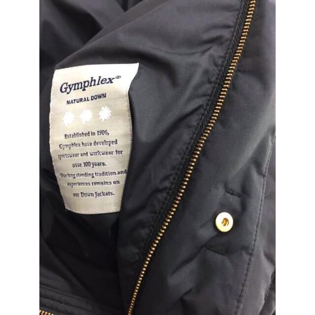 GYMPHLEX(ジムフレックス)のGYMPHLEX(ジムフレックス) フーデッドダウンジャケット レディース レディースのジャケット/アウター(ダウンジャケット)の商品写真