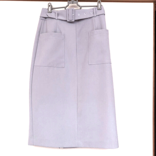 アラマンダ(allamanda)のタイトスカート②(ひざ丈スカート)