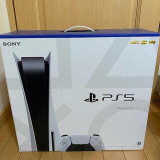 プレイステーション(PlayStation)の新品未使用 PlayStation 5 CFI-1000A01(家庭用ゲーム機本体)