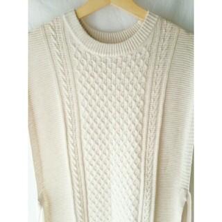しまむら - knit long vest