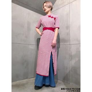 PAMEO POSE - 21SS 完売色 M PAMEO POSE Meifan Dress RED