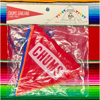 CHUMS - 新品 CHUMS Flag Garland チャムス フラッグ キャンプ