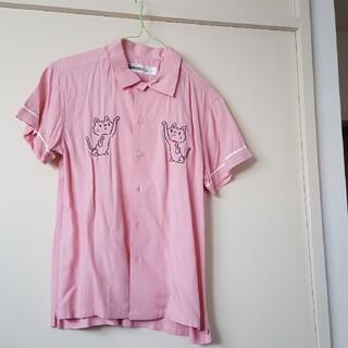 ランドリー(LAUNDRY)の【このままじゃヤバいぞ日本セール】ランドリー 猫シャツ(シャツ)