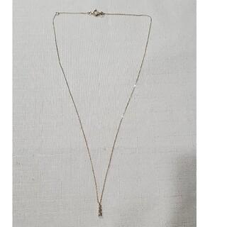 ココシュニック(COCOSHNIK)のココシュニック K18ダイアモンドネックレス(ネックレス)