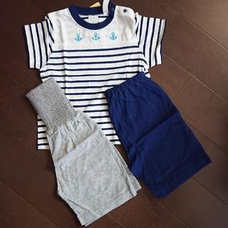 シマムラ(しまむら)の新品  半袖パジャマ(2パンツ)(パジャマ)