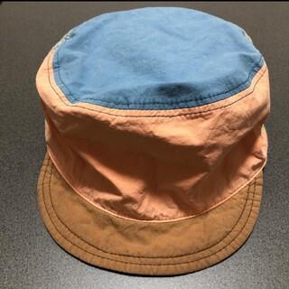 マーキーズ(MARKEY'S)のキッズキャップ☆リバーシブルocean&ground(帽子)