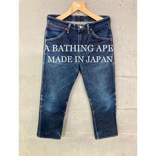 A BATHING APE - A BATHING APE デニムパンツ!日本製!