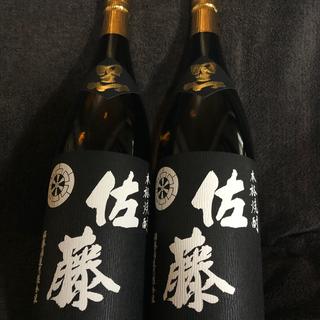本格芋焼酎 佐藤 黒 1,800ml 2本セット(焼酎)
