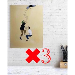 Yusuke Hanai 花井祐介 JAXTAPOZ ポスター 3枚セット(その他)