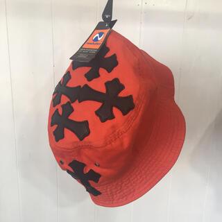 クロムハーツ(Chrome Hearts)のchrome hearts type bucket hat orange(ハット)