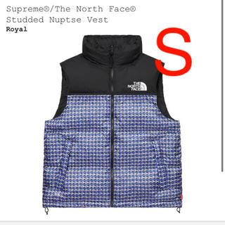 シュプリーム(Supreme)のSupreme North Face Studded Nuptse Vest(ダウンベスト)