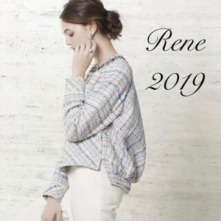 ルネ(René)のRene♡ 2019年 DM掲載 マリアケントツイードブルゾン(ブルゾン)