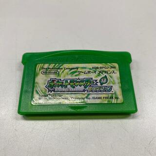 ゲームボーイアドバンス(ゲームボーイアドバンス)のニンテンドー DS ポケットモンスター リーフグリーン(携帯用ゲームソフト)