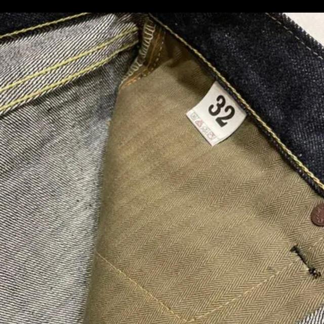 WAREHOUSE(ウエアハウス)のウエアハウス20周年大戦モデル1003XXカーキスレーキW32/32値引交渉なし メンズのパンツ(デニム/ジーンズ)の商品写真