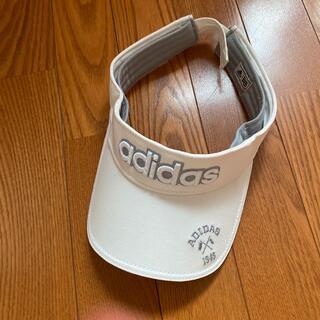 アディダス(adidas)のゴルフ用 サンバイザー(サンバイザー)